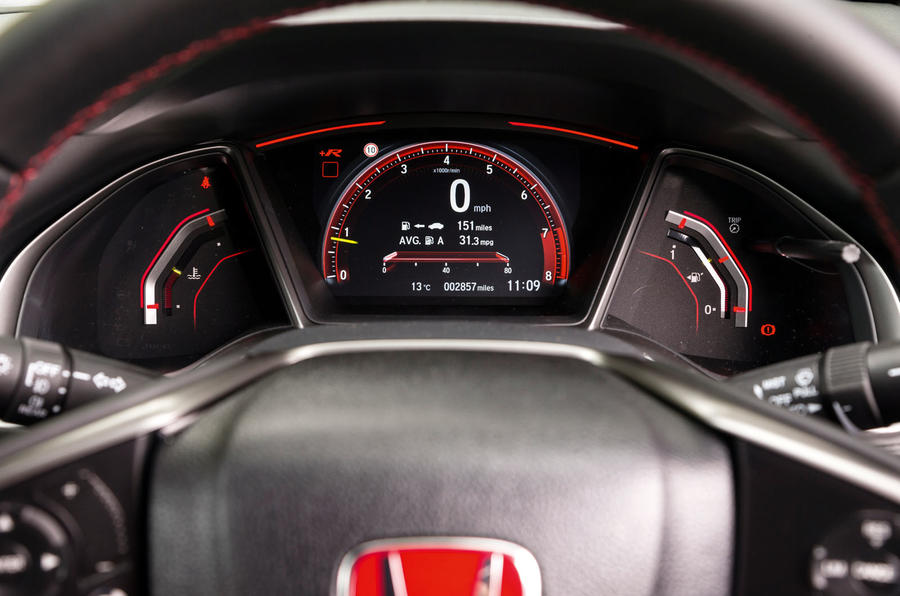 Honda Civic Type R interior | Autocar