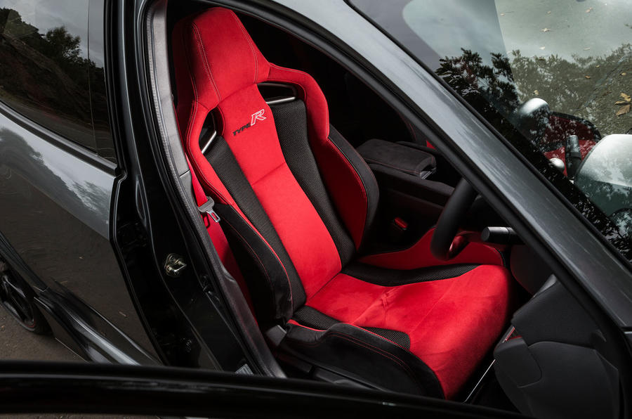 Honda Civic Type R bucket sports seats