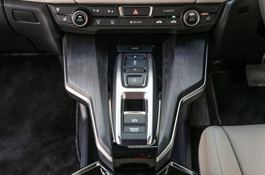 Honda Clarity FCV automatic gearbox