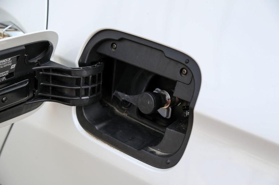 Honda Clarity FCV fuelling point