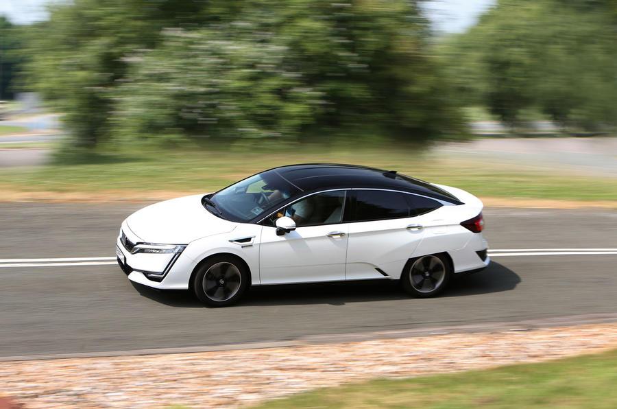 Honda Clarity FCV side profile