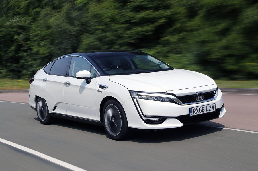 4 star Honda Clarity FCV