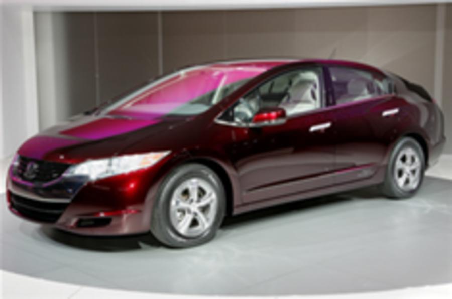 Honda backs hydrogen tech