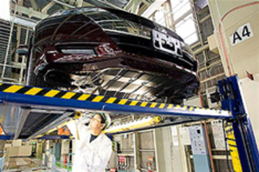 First Honda FCX leaves factory