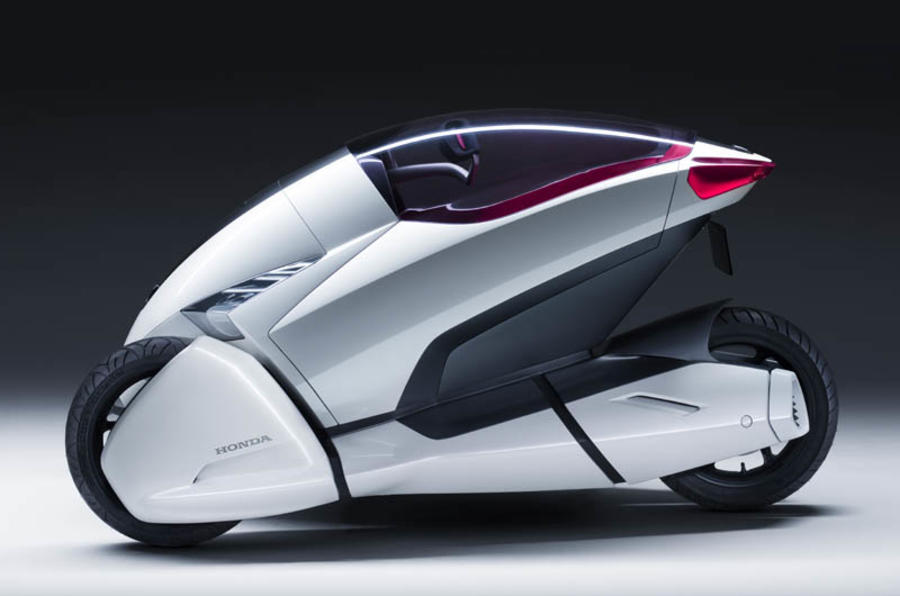 Three-wheel Honda 3-RC unveiled | Autocar