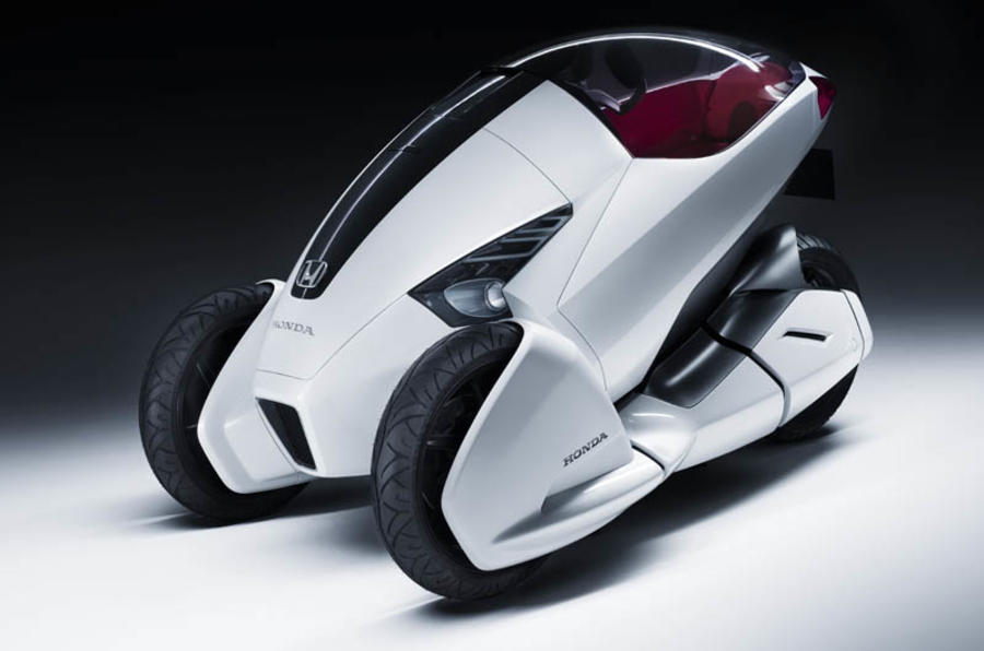 Three-wheel Honda 3-RC unveiled