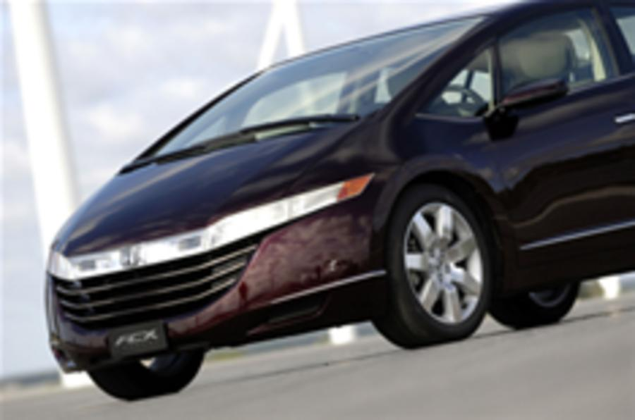 Honda to produce FCX hydrogen car