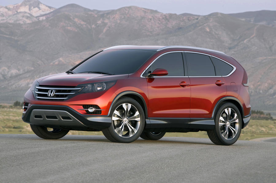 Honda CR-V pics leak out