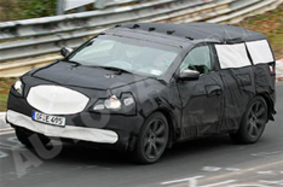 Spied: Acura CUV