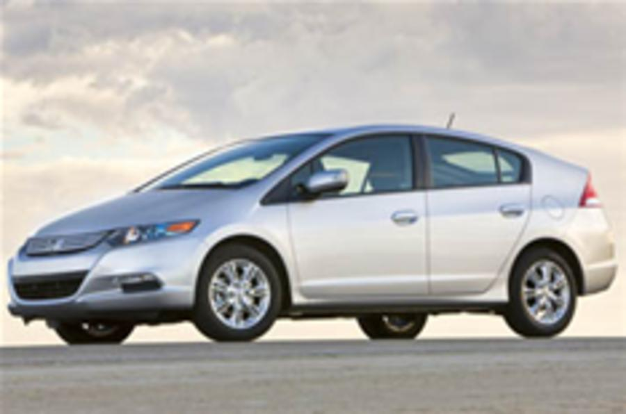 Official picture: Honda Insight