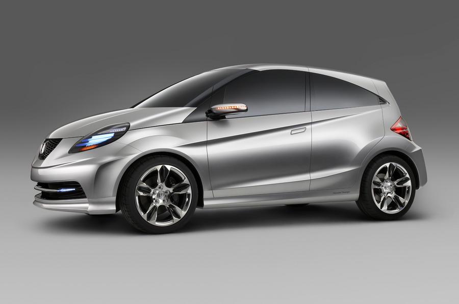 Honda reveals low-cost city car