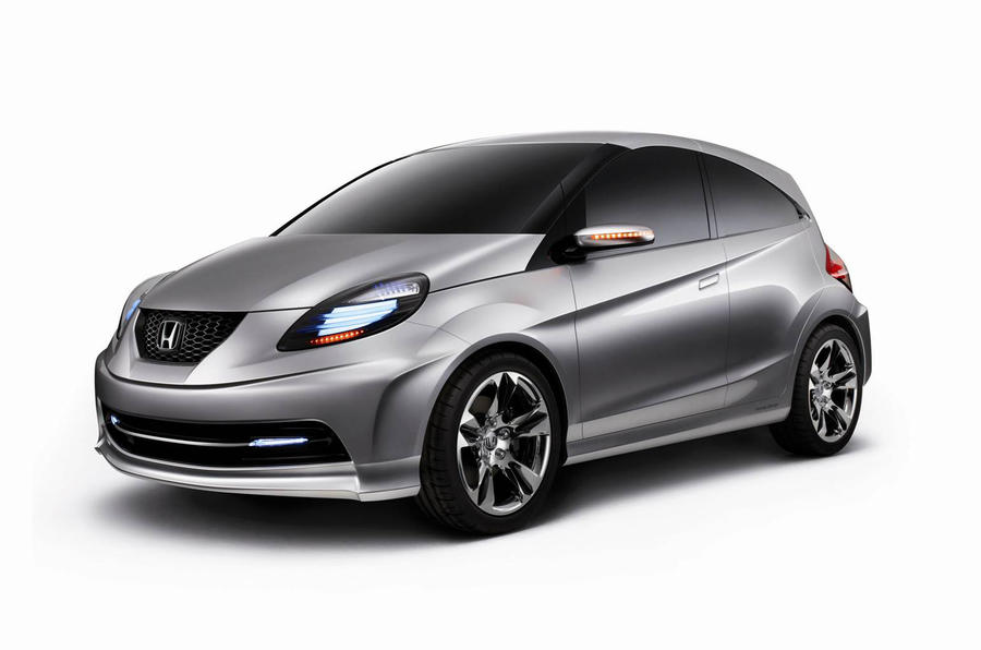 Honda reveals low-cost city car