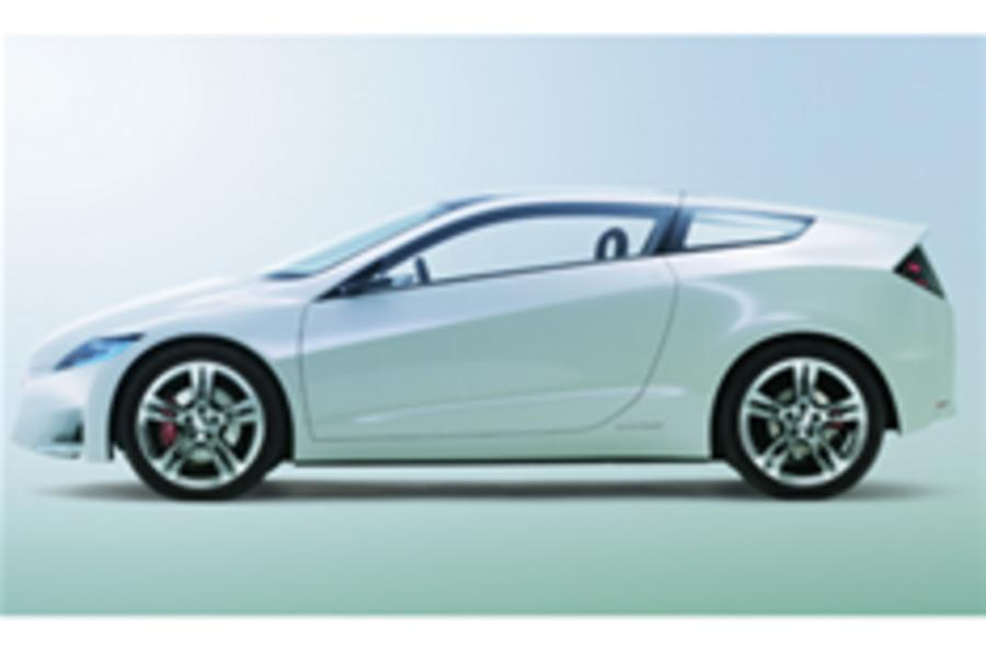 Tokyo show: Honda CR-Z will be made