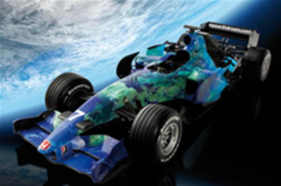 Honda goes green with F1 'earth car'