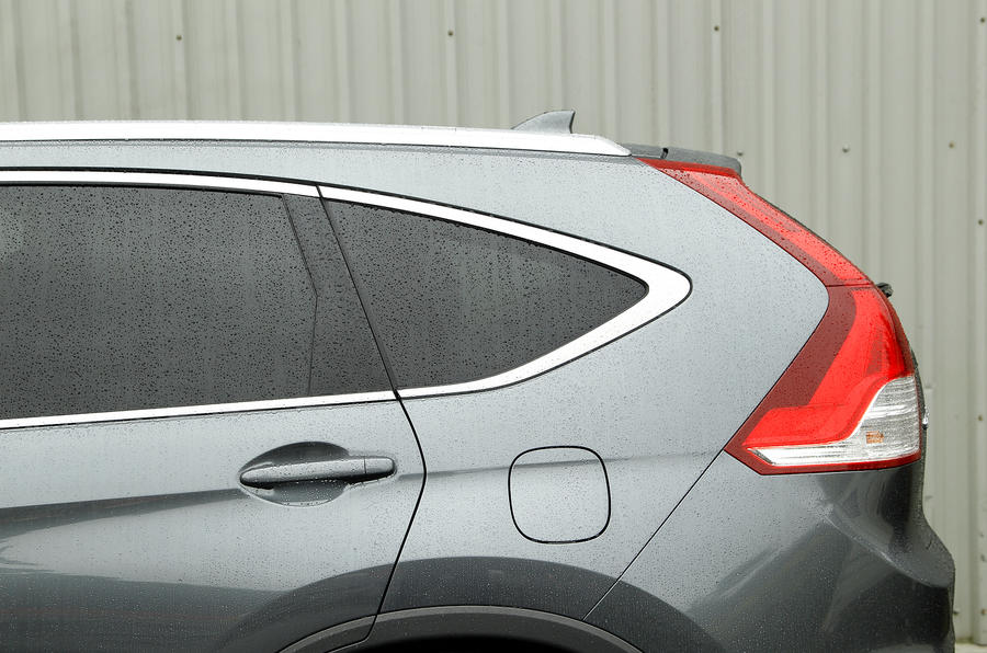 Honda CR-V tapered side glass