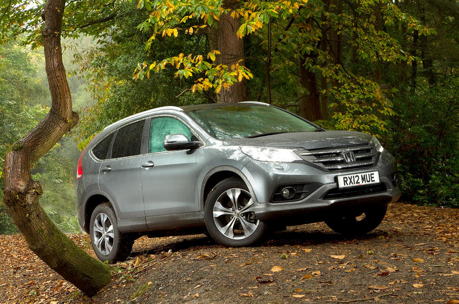 3.5 star Honda CR-V crossover