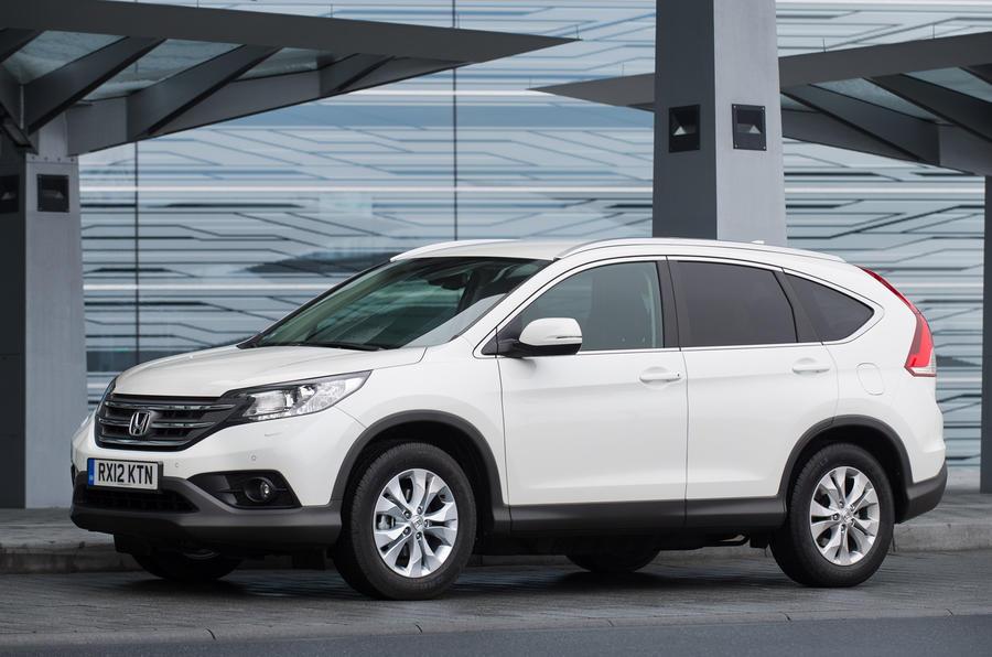 Elegant Honda CR V Scores Five Star Safety Rating