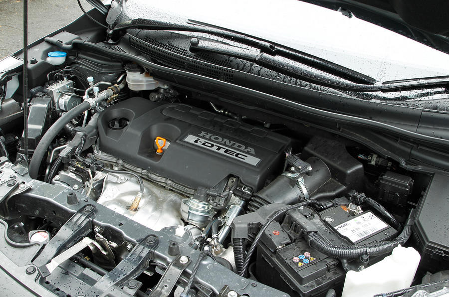 Honda CR-V engine bay