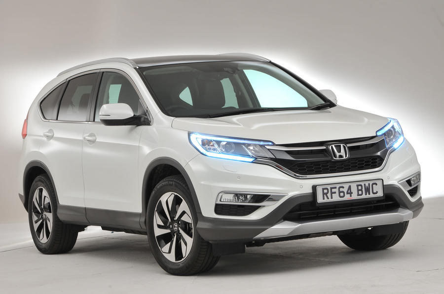 3.5 star Honda CR-V