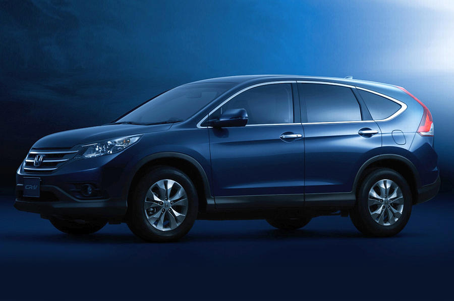 New Honda CR-V revealed