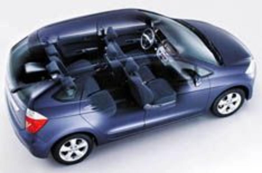 Honda's take on the Multipla