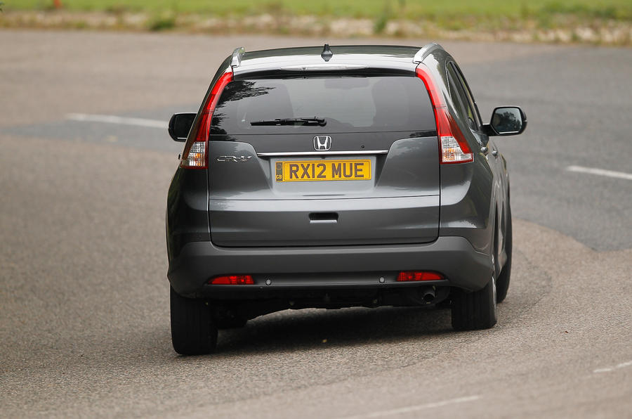 Honda CR-V rear cornering