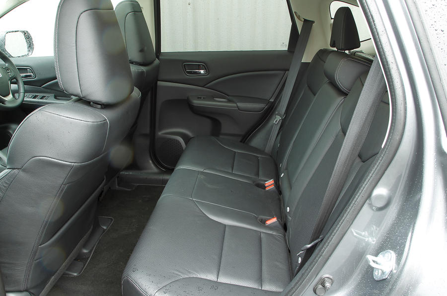 Honda CR-V rear seats