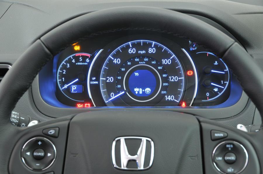 Honda CR-V instrument cluster