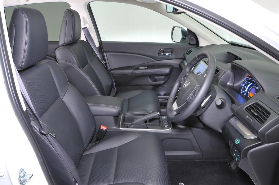 ... Honda CR V Interior ...