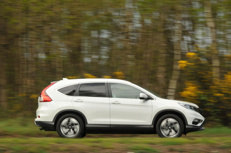 Honda CR-V side profile