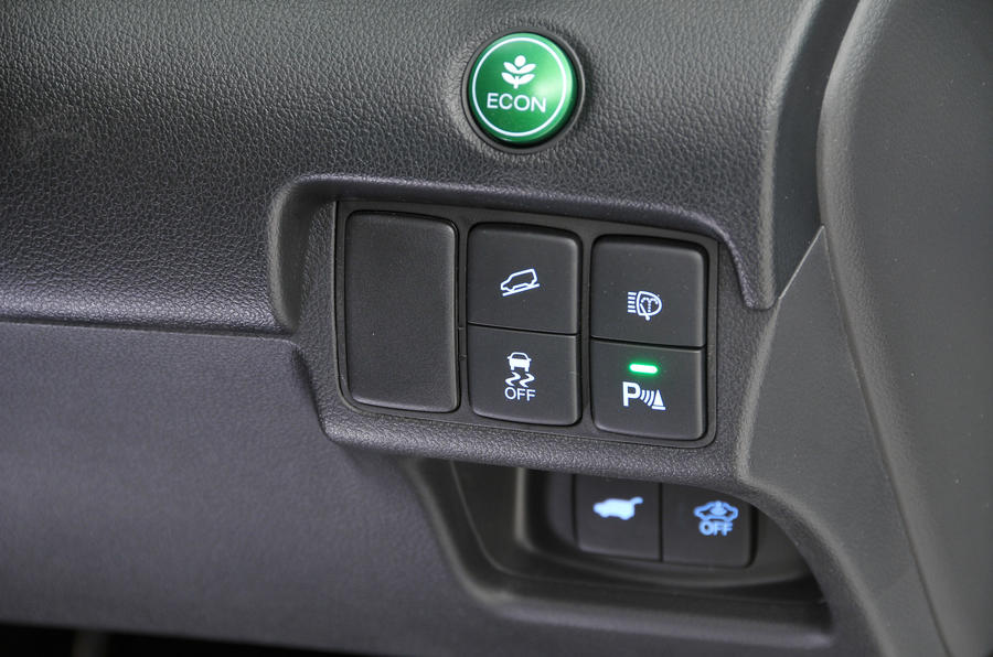 Honda CR-V switchgear