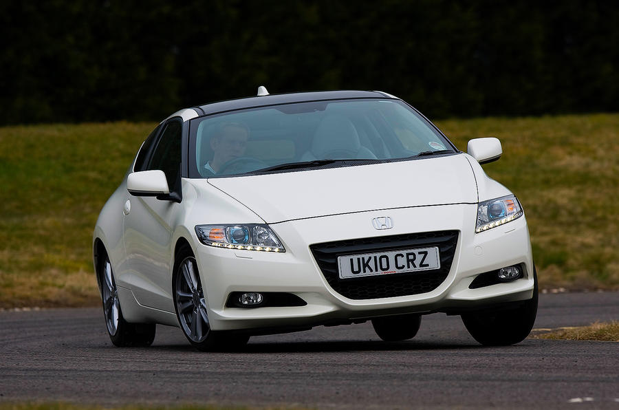 Honda CR-Z cornering