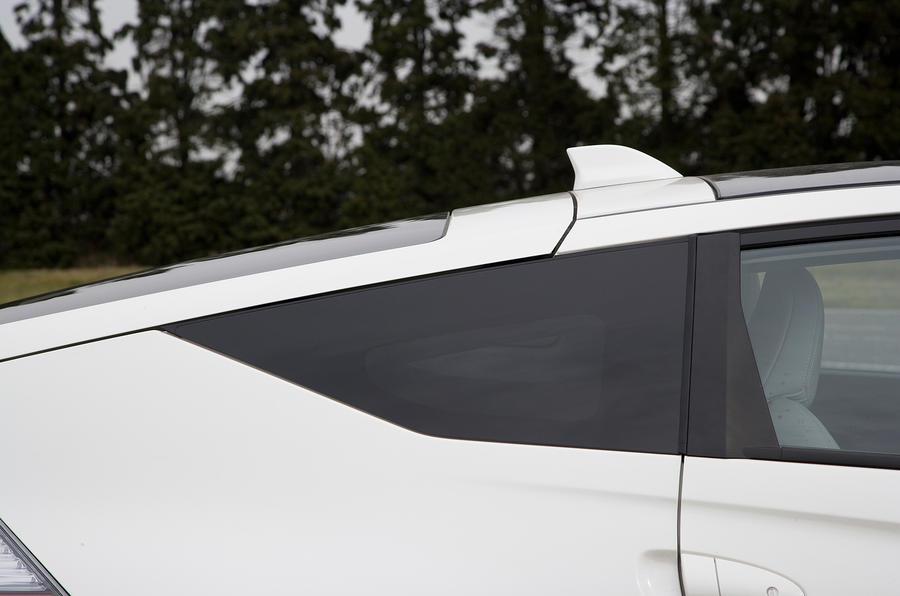 Honda CR-Z privacy glass