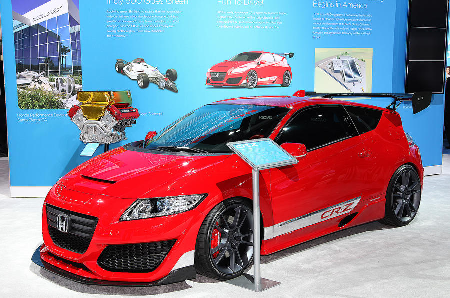 Hot petrol Honda CR-Z planned