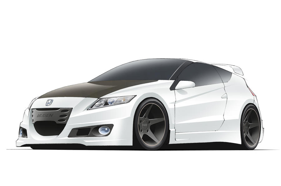 Mugen-tuned CR-Z planned