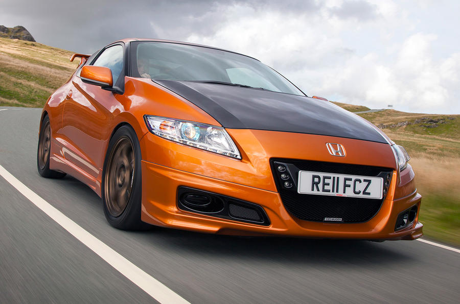 Hot Honda CR-Z revealed