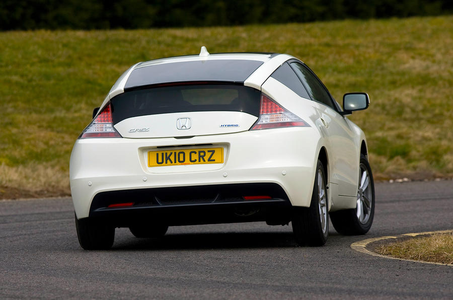 Honda CR-Z rear cornering