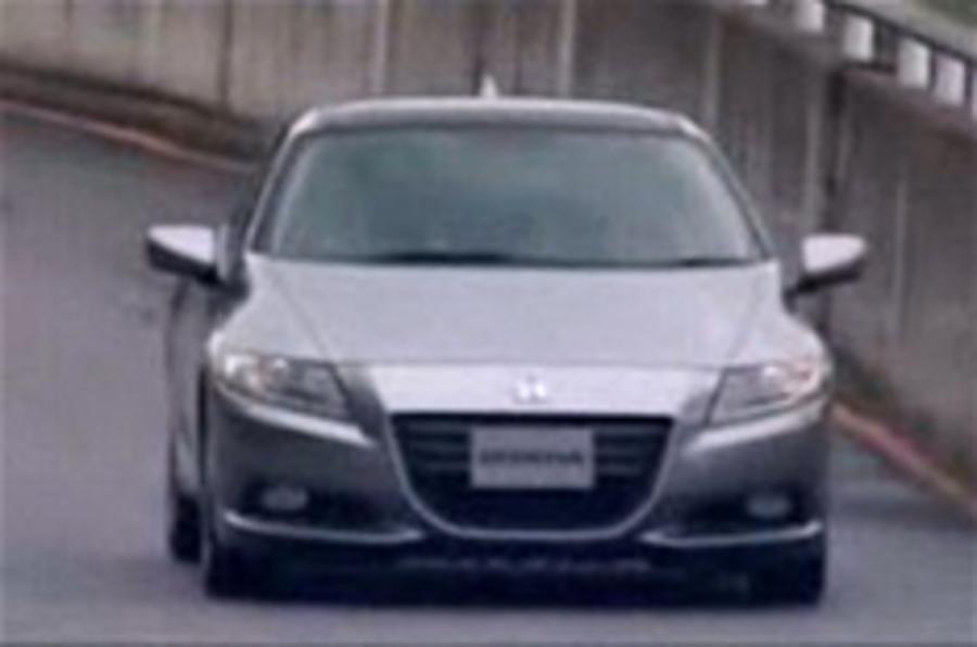 New Honda CR-Z pics leak out
