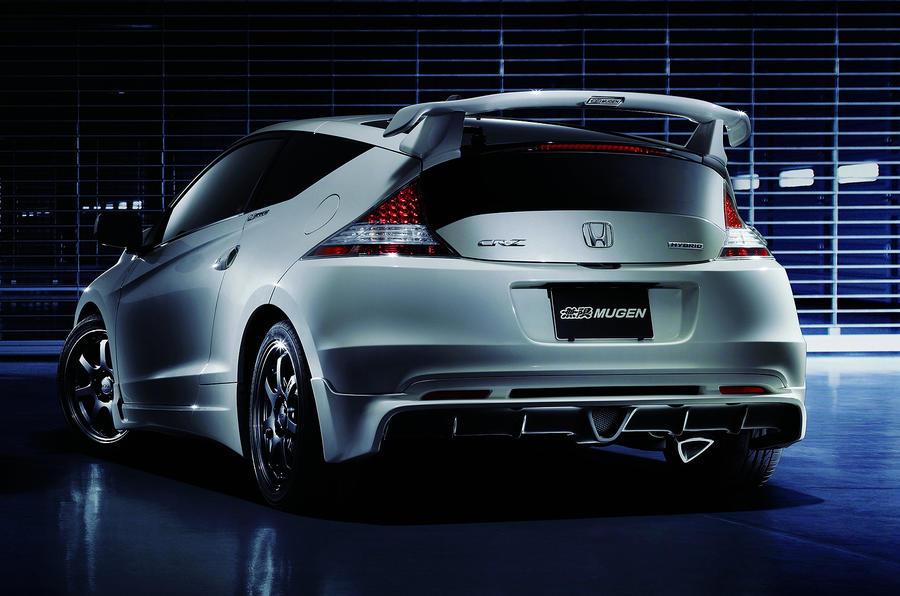 Honda Mugen CR-Z unveiled