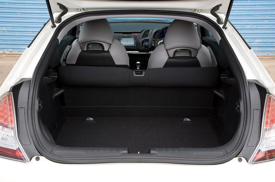 ... Honda CR Z Boot Space ...