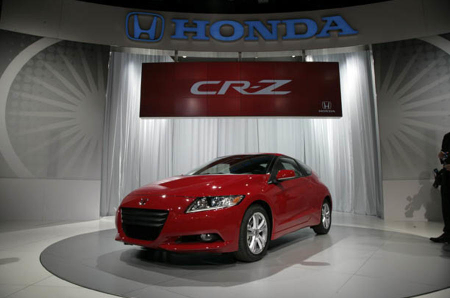 Honda reveals production CR-Z