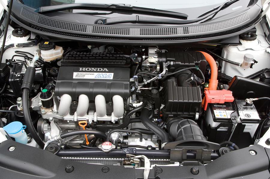 Honda CR-Z hybrid engine