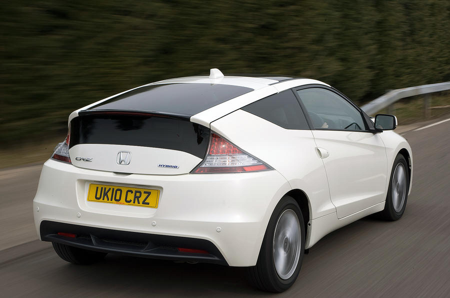 Honda CR-Z rear quarter
