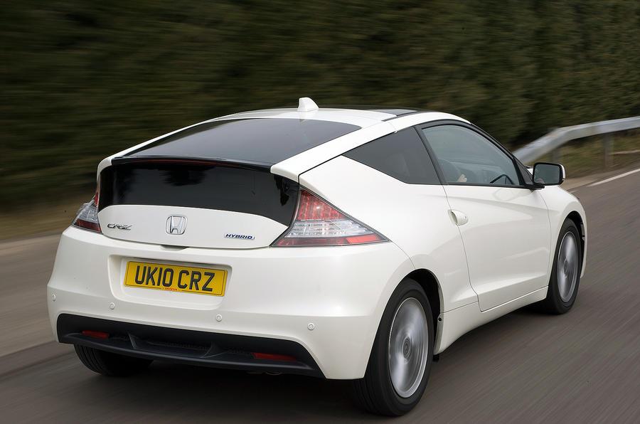 Honda CR-Z rear quarter