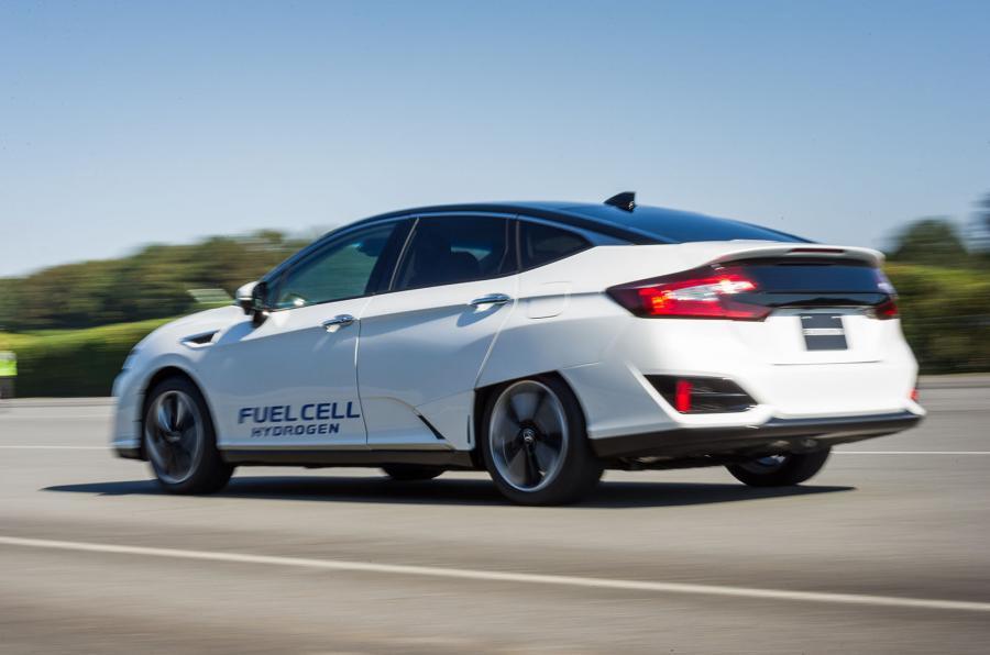 Honda FCV Clarity rear
