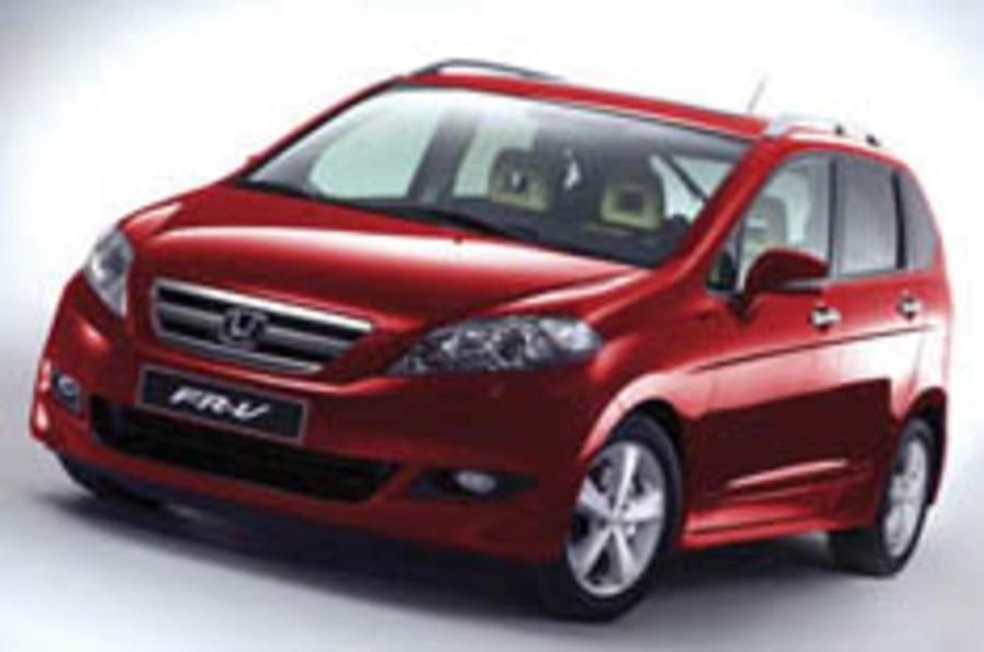 Honda sticks to proven FR-V formula