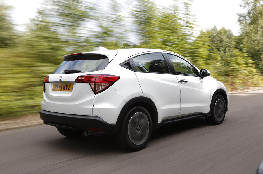 The Honda HR-V has a robust aptitude common to the Jazz and the CR-V, underwitten wiith a splash of sprightliness
