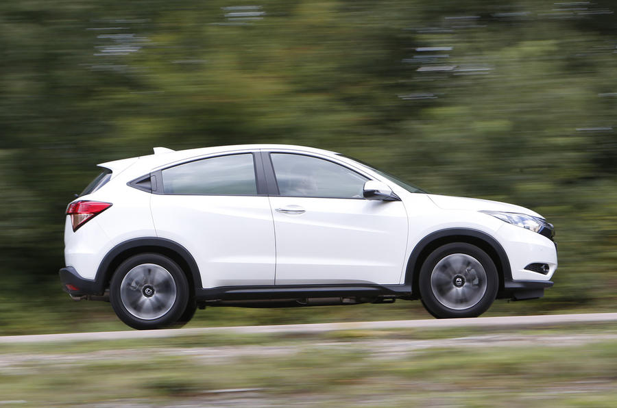 ...but the Honda HR-V handles capably