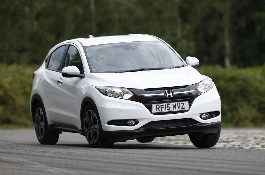 The Honda HR-V's ride on the firm side...