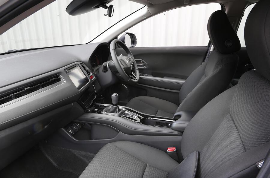 Honda hr v interior autocar for Honda hr v interieur